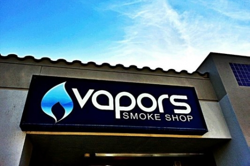Vapors Smoke Shop by Mark Longoria
